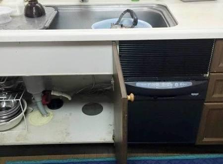寝屋川市 食洗機交換工事