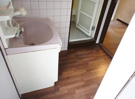 交野市 洗面台リフォーム パナソニック シーライン 施工例