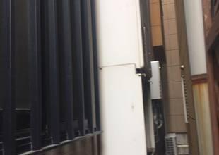 大阪市城東区 熱源付き給湯器の取替工事