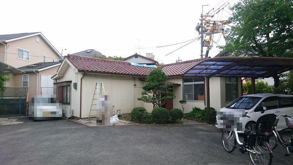 屋根の葺き替え工事  枚方市