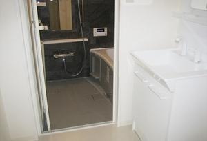 浴室リフォーム工事 京都府伏見区向島ニュータウン